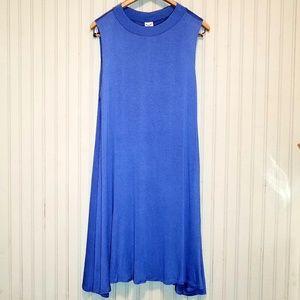 2X Light Blue Dress